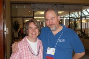David Allen Lambert and Marian Pierre-Louis at NERGC