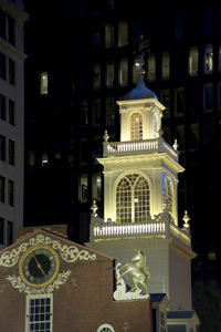 The 300th Anniversary of the Old State House in Boston