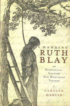 Hanging Ruth Blay with Carolyn Marvin on Fieldstone Common