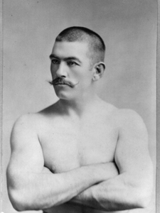 John L. Sullivan (Library of Congress photo)