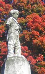 Gravestone of General Tom Thumb aka Charles Stratton