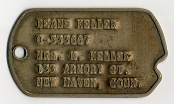 Deane Keller Dog Tags
